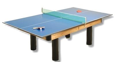 Billardtisch Tischtennis Auflage für alle Billardtische bis Größe 8 ft.