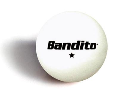 Table tennis balls Bandito * 6 pieces
