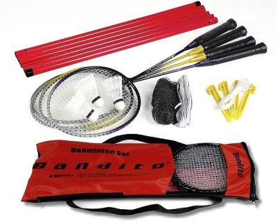Badminton Komplett Set Bandito