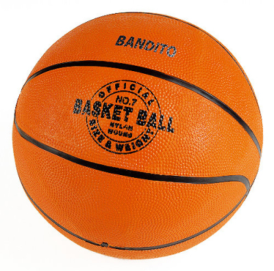 "Basketball ""Bandito"" in an official tournament size"