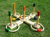 Ring Toss Game in wood trim for the whole family