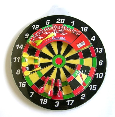 "Magnetic Dart Board Set ""Family"""