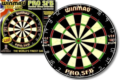Dartboard WINMAU Pro SFB Original for Soft- and Steel Darts