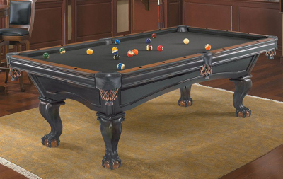 Pool Billardtisch Brunswick Glenwood 8 ft. Black / Chestnut