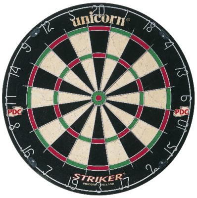 Dart Board Unicorn Bristle Board Striker-5 board per master carton
