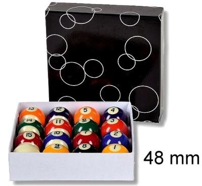 Pool Billiard Ball Set Professional 48 mm