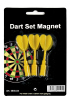 Spare Arrows for Dartsboard magnetic 3 pcs./set yellow