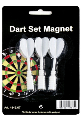 Spare Srrows for Dartsboard magnetic 3 pcs./set white