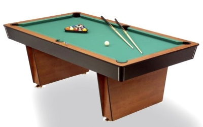 Pool Billardtisch Lugano 6-7 ft.
