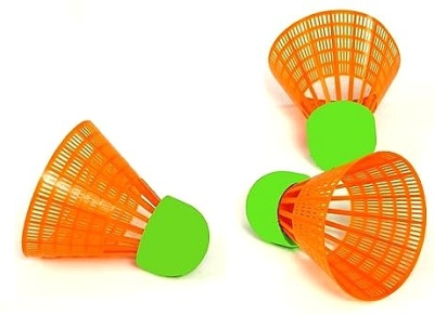 Speed Badminton spare balls in top quality, 3 piece in a set by Bandito