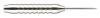 Dart Barrel, Brass, chrome plated,  Weight: 19 g, Length:...