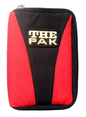 """Darttasche The Pak """"Multi"""" rot-schwarz"""