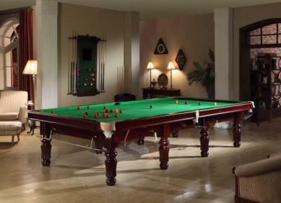 Snooker table Robertson Tournament Mahogany