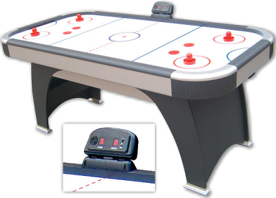 Air Hockey ZODIAC, the stable air hockey table for the whole family, 6 ft.