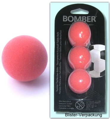 Kickerball Bomber ROBERTSON, red, 3 pieces in a set