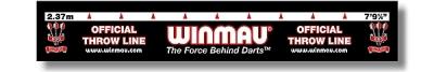 Abwurflinie Winmau 237 cm (für Steel- und Softdart)