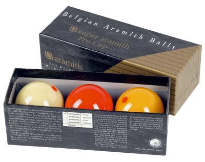 Carom Ball Set Super Aramith Pro Cup 61,5 mm