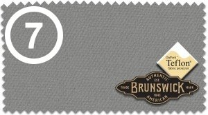 7 = Brunswick Centennial Gun Metall Grau