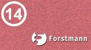 14 = Forstmann Coral #10447