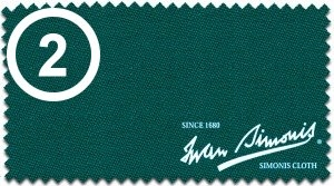 2 = Simonis 860 blue/green